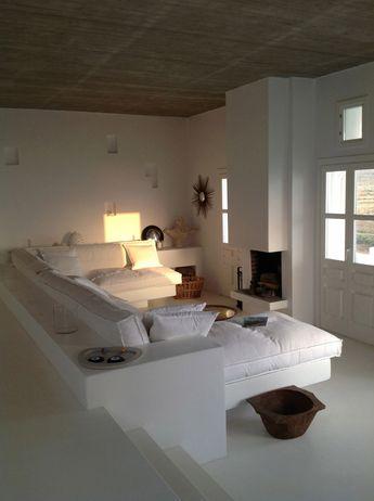 Architecture - Maison - Maisons privées. Folegandros, Grèce