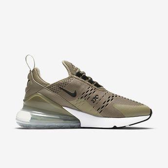 Green Nike air max 270