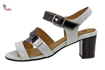 Chaussure femme confort en cuir Piesanto 8496 sandale confortables amples - Chaussures  piesanto ( Partner 507e1452b56c