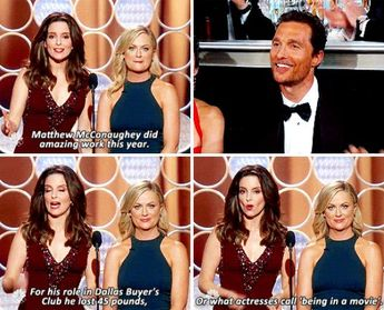 When Tina Fey and Amy Poehler called out the very industry they're a part of: