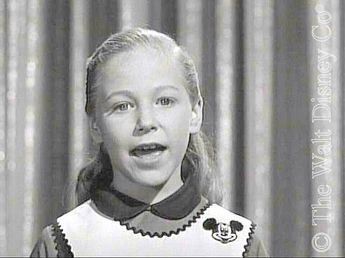 Karen's initial appeal lay in her slightly raspy singing voice (YouTube link) and wide-open eyes. She was a good dancer, but that part of her talent wasn't emphasized until the later seasons. For duets, Karen was matched with either Johnny Crawford, who was also a good singer, or with Cubby when no male solo was needed. Johnny was let go midway through the first season, so for the next two and a half years she and Cubby were singing partners.
