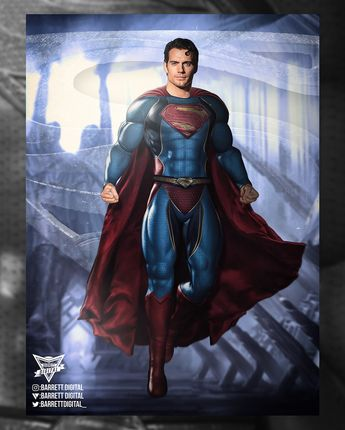 Quick little DCEU Superman redesign, just a fun piece, wanted to show my dream live action Superman suit