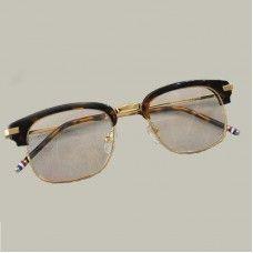 55e845e307 Alloy Optical Glasses Frame For Men 2018 Half Vintage Round Eyeglasses For  People Women New Prescription