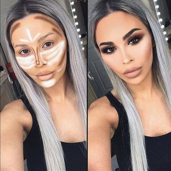 Highlighting and Contouring : How-To Contour A Face Like A Pro - Style O Check
