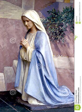 Mary Praying stock photo. Image of ...