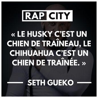 Les 40 meilleures punchlines de Seth Gueko