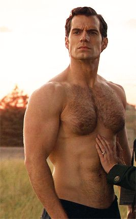 Does Henry Cavill Have The Nicest Hairy Chest In Hollywood?