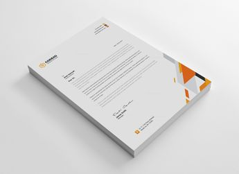 Elegant Letterheads Design 002928 - Template Catalog