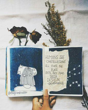 os humanos são constelações em todo o lugar até encontrarem o seu design.