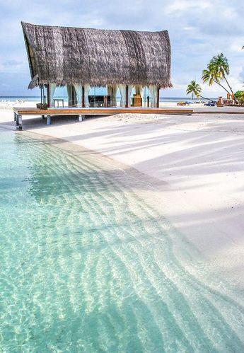 Ma cabane sur le sable !