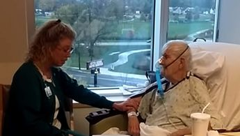 After Nurse Sings to Hospice Patient, Family is Stunned When He Goes Home One Week Later