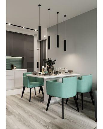 Студия Дизайна Интерьера в Instagram: «⬅️➡️Концепт кухни из этого проекта вам понравился😏 немного скорректировали и проработали часть гостиной и…»