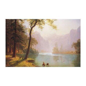 Albert Bierstadt, Kerns River Valley California. Canvas Print | Zazzle.com