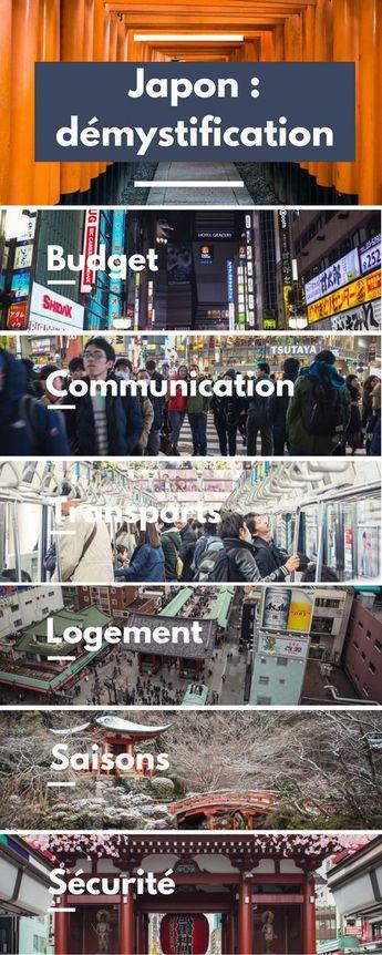 Voyager au Japon : démystification et informations pratiques