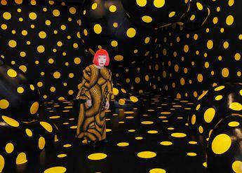 The dotty art of Yayoi Kusama comes to Louis Vuitton