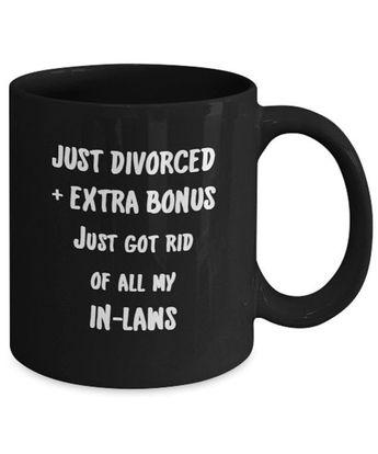 divorce gift coffee mug divorce party gift just divorced funny divorce single mug divorce gifts for