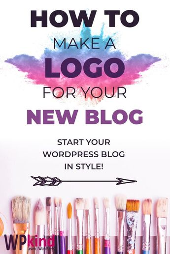 How To Make A Logo For Your WordPress Blog - WPkind