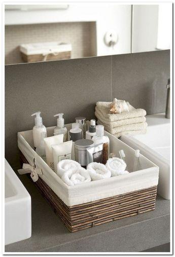 40 fantastic apartment decorating bathroom countertop ideas look elegant 15