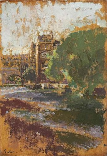 Walter Richard Sickert, Pulteney Bridge, Bath
