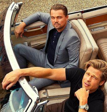 "Brad Pitt on Instagram: ""#OnceUponATimeInHollywood #Bradpitt #Leonardodicaprio"""