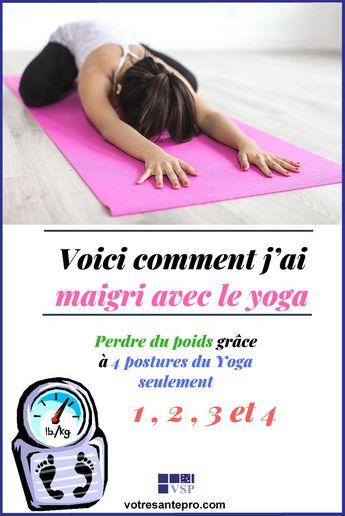 Voici comment j'ai maigri avec le yoga