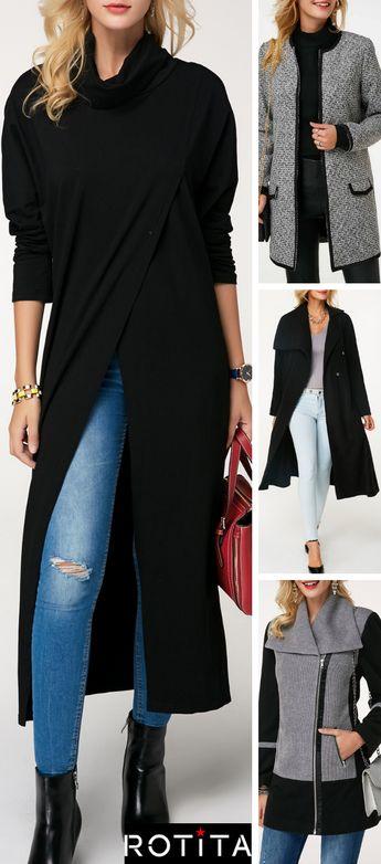 Soyez prêtes à chaque occasion avec cette manteau tendance. Cette garde-robe indispensable sera parfaite portée avec du denim. Supers plans sur Rotita.