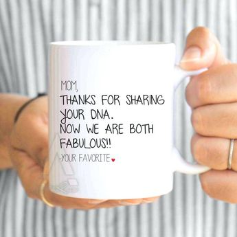 Diy Christmas Presents For Mom Mothers Day From Daughter Funny Coffee Mug Thanks
