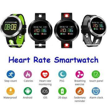 Smart Watch Men Watch Fitness Tracker Bluetooth Heart Rate Sport Watches Women #Unbranded