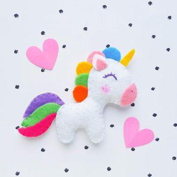 Felt Unicorn Sewing Project