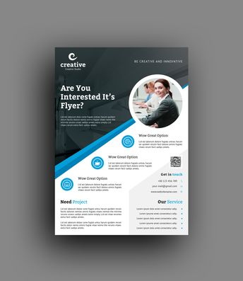 Lyon Professional Business Flyer Template - Graphic Templates