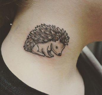 60119a27a Flowery Hedgehog Tattoo Pinterest Media analytics | pikove