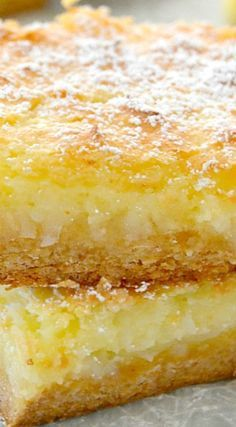 Coconut Cream Pie Gooey Bars