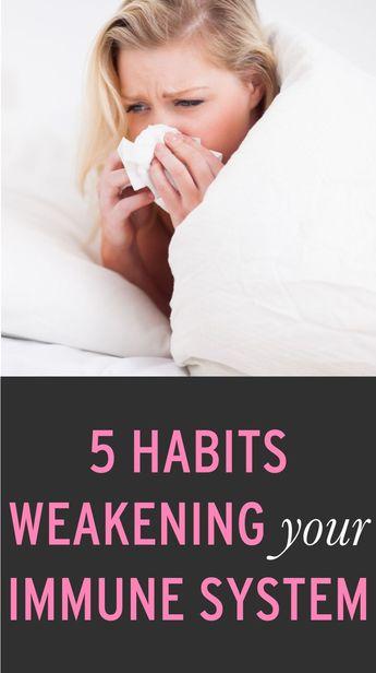 5 Reasons You Keep Getting Sick