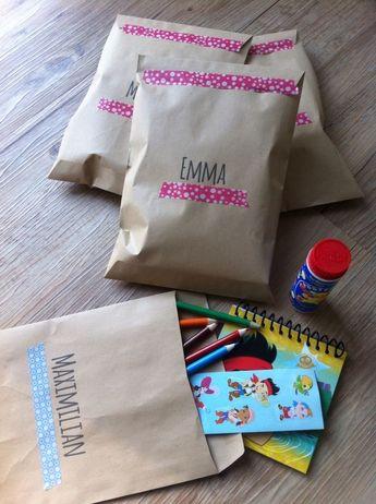Give-aways | Wundertüte DIY! Was könnte man denn in die Mitgebsel-Tüte rein tun? Oder wie macht man eine passende Give away-Tüte? Hier sind ein paar Ideen.  #balloonas #give-away #kindergeburtstag #mitgebsel #kinder #geburtstag #party