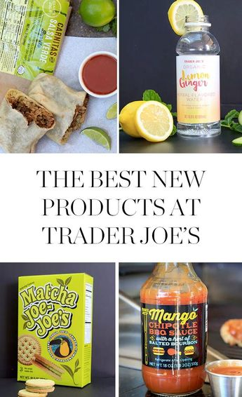 The Best New Products from Trader Joe's (All $7 or Less)