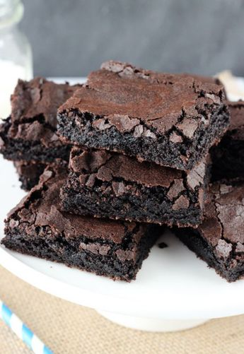 Quick and Easy Brownies (Like a Box Mix!)