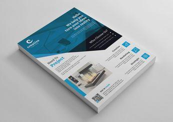 Buffalo Stylish Business Corporate Flyer Template 001423 - Template Catalog