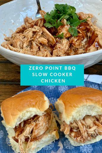 Zero Point BBQ Slow Cooker Chicken - Pound Dropper