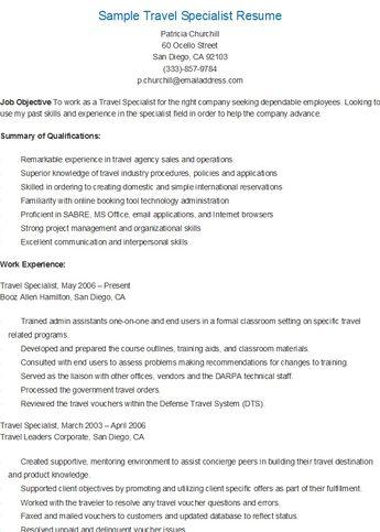 Sample Paralegal Specialist Resume