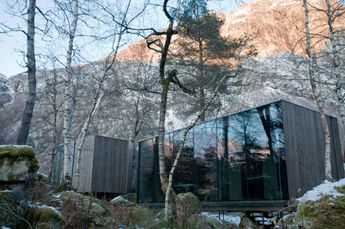 A Modern Spa Retreat in Norway