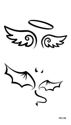 HC1113 Waterproof Temporary Tattoo Stickers Courage Fear Heart Mind Letters Design Water Transfer Tattoo Harajuku Fake Tattoo #Tattoosonneck