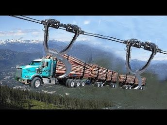 10 World Dangerous Monster Truck Fastest Extreme Processing, Heavy biggest Truck Logging Skill - YouTube