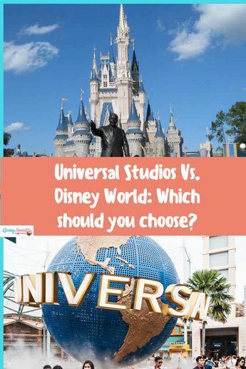 Universal Studios Vs. Disney World