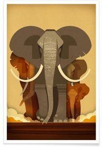 Designspiration hayvan illustrasyon