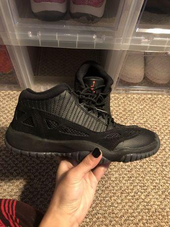 sports shoes 14ad3 050bc Air Jordan 11 Low Retro BG GS IE Black Red Referee XI Sz 4Y 768873 003
