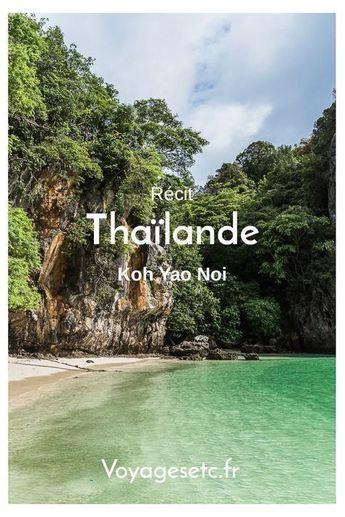 Koh Yao Noi, de la simplicité et l'authenticité d'une île. #thailande #asie #ile