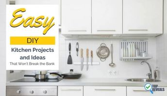 29 Fun, Easy, Diy Kitchen Projects And Ideas That Won'T Break The Bank