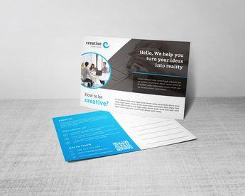 Artemis Creative Corporate Postcard Template - Graphic Templates