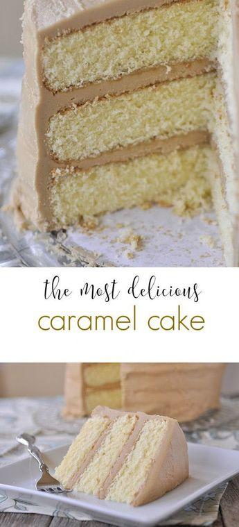 Easy Caramel Cake Recipe | Grace Food #caramelcake #cake