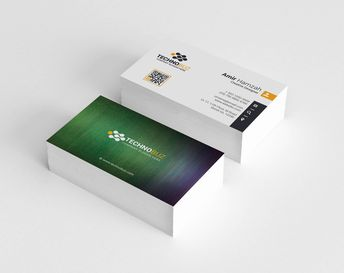 Dinlas Professional Corporate Visiting Card Template